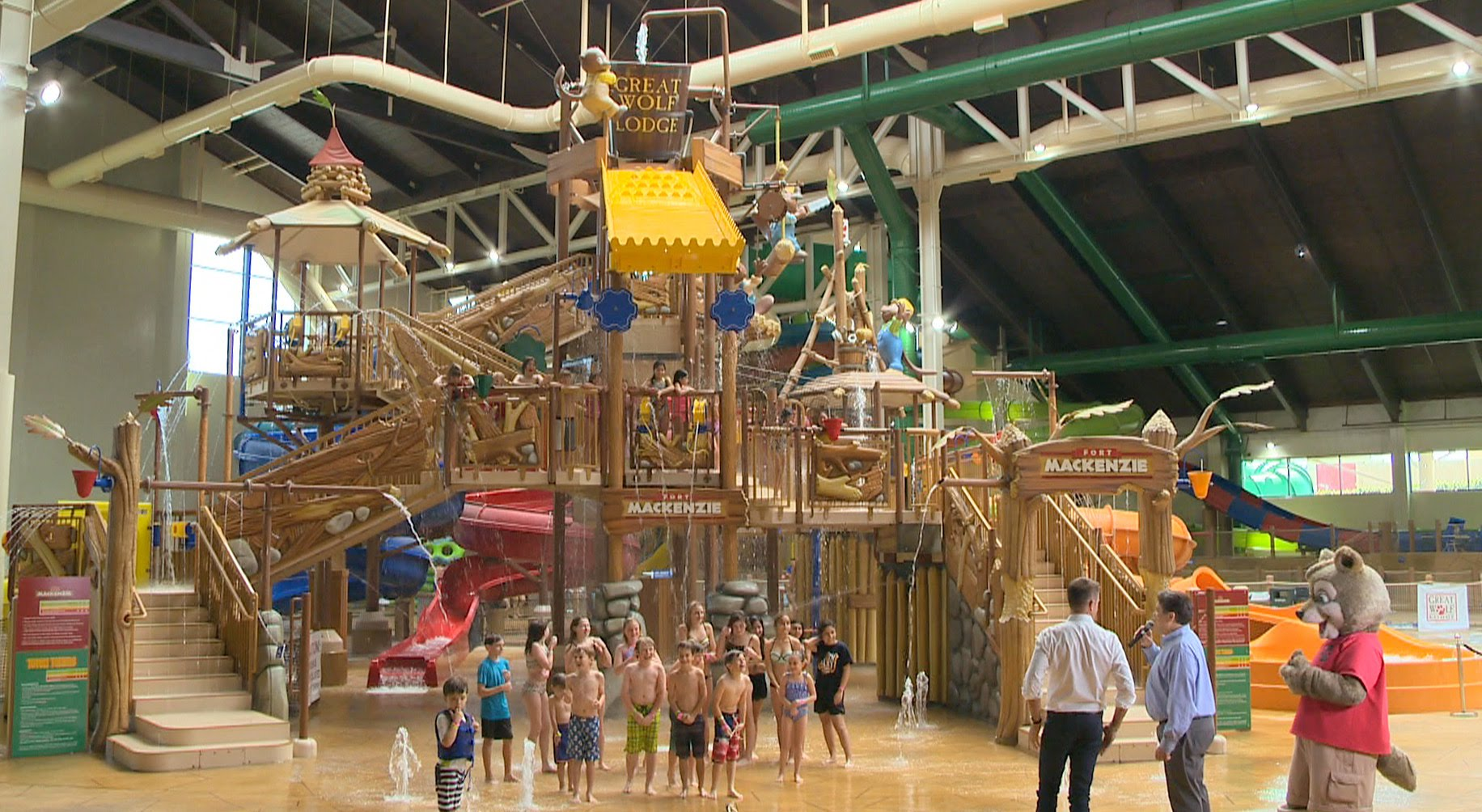 Founders District - The Great Wolf Lodge